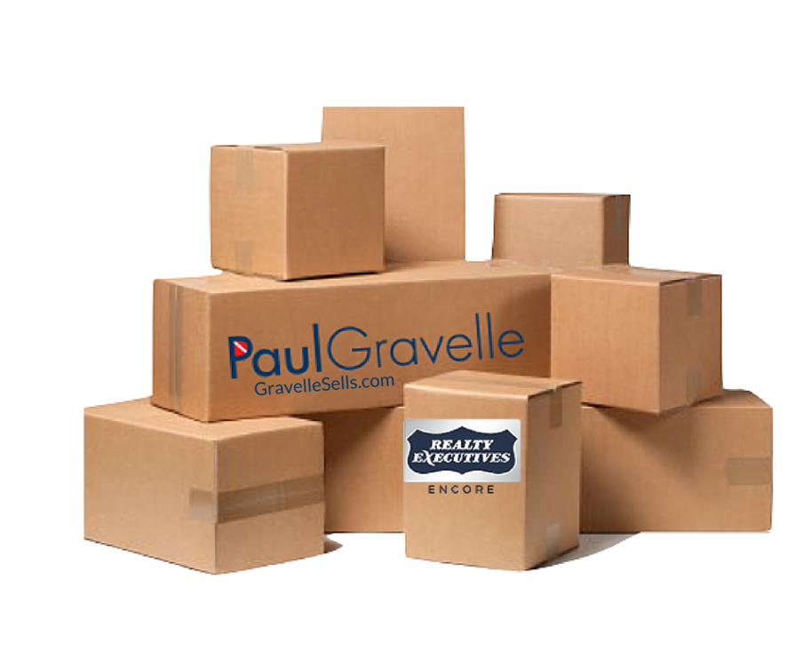 Realtor Paul Gravelle ~Courtesy Moving Boxes